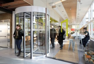 Worlds First Renewable Energy Revolving door