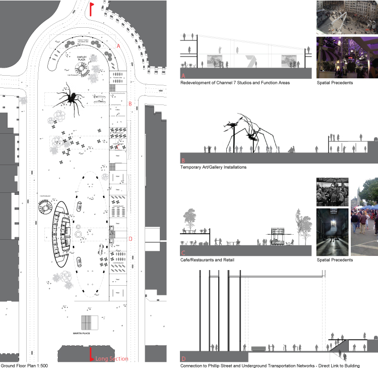 My University Project: Commercial Design Proposal, Sydney | Archi-