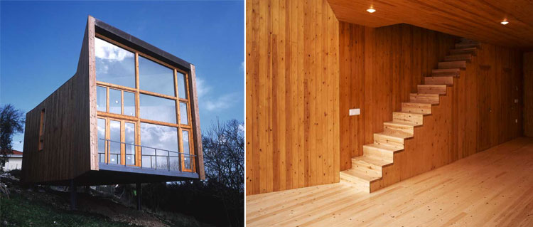 House of Steel and Wood - Ecosistema Urbano